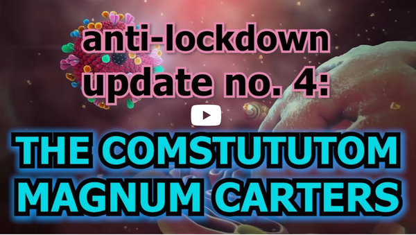 Anti-lockdown Update #4: CONSTUTUTOM MAGNUM CARTERS!